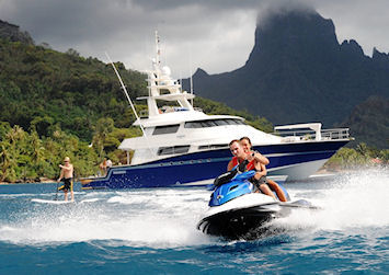 Watercraft Insurance covers leisure activities such as jet skis, yachts, boats